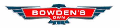 Bowden's Own Logo